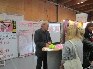 Martin Meise informierte über den sog. AHR-Bildungsgang. Foto: SMMP/ Neumeister