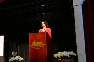 Zu den Rednern gehörte auch Schirmherrin Dagmar Freitag. Foto: SMMP/Hofbauer