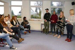 Die HEP-Studierenden stellten ihre Projekte vor Publikum vor. Foto: SMMP/Hofbauer