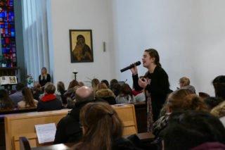 Lina Casarini sang ein wunderschönes Lied. Foto: SMMP/Hofbauer