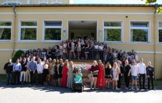"""Der """"Placida""""-Abschlussjahrgang 2018. Foto: SMMP/Hofbauer"""