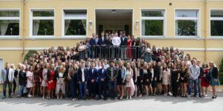 Unsere diesjährigen Absolventinnen und Absolventen. Foto: SMMP/Hofbauer