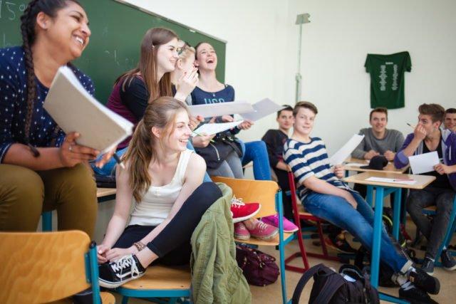 Unterricht am Placida-Viel-Berufskolleg. (Foto: SMMP/Beer)