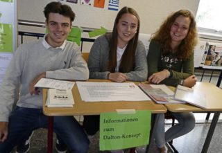 Auf besonderes Interesse stieß die neue Unterrichtsform Dalton. Foto: SMMP/Hofbauer